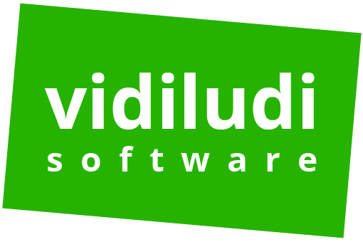 vidiludi software logo
